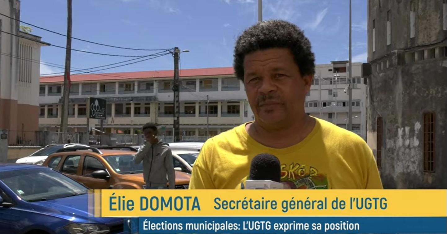 Élie Domota s'exprime sur les élections
