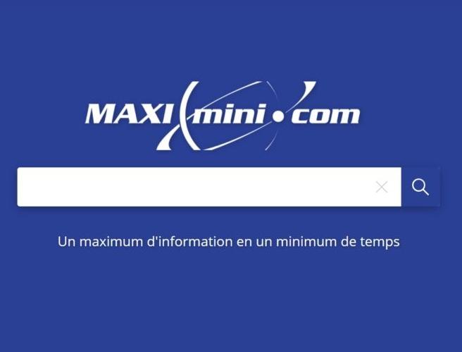 Maximini votre moteur de recherche français